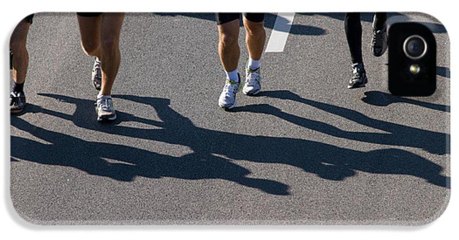 Marathon IPhone 5 Case featuring the photograph 11th Poznan Marathon by Michal Bednarek