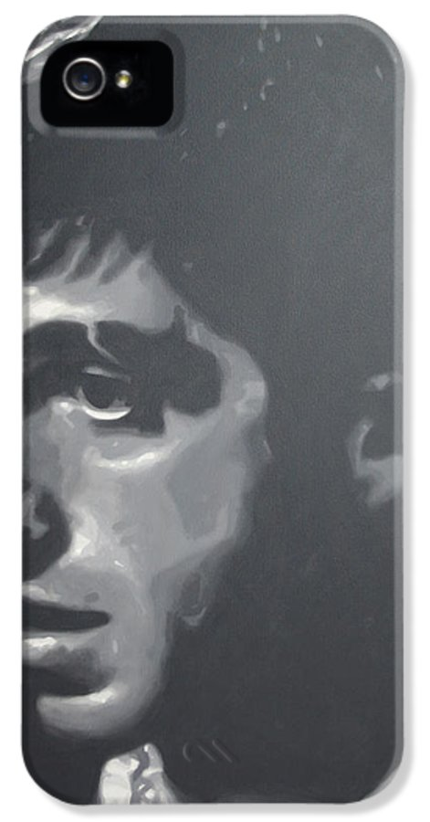 Ludzska IPhone 5 Case featuring the painting Scarface by Luis Ludzska