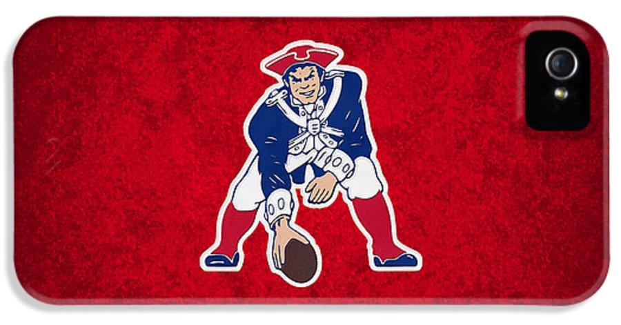 Patriots IPhone 5 Case featuring the photograph New England Patriots by Joe Hamilton