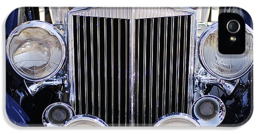 1933 Packard 12 Convertible Coupe Grille IPhone 5 Case featuring the photograph 1933 Packard 12 Convertible Coupe Grille by Jill Reger