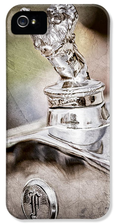 1927 Franklin Sedan Hood Ornament IPhone 5 Case featuring the photograph 1927 Franklin Sedan Hood Ornament by Jill Reger