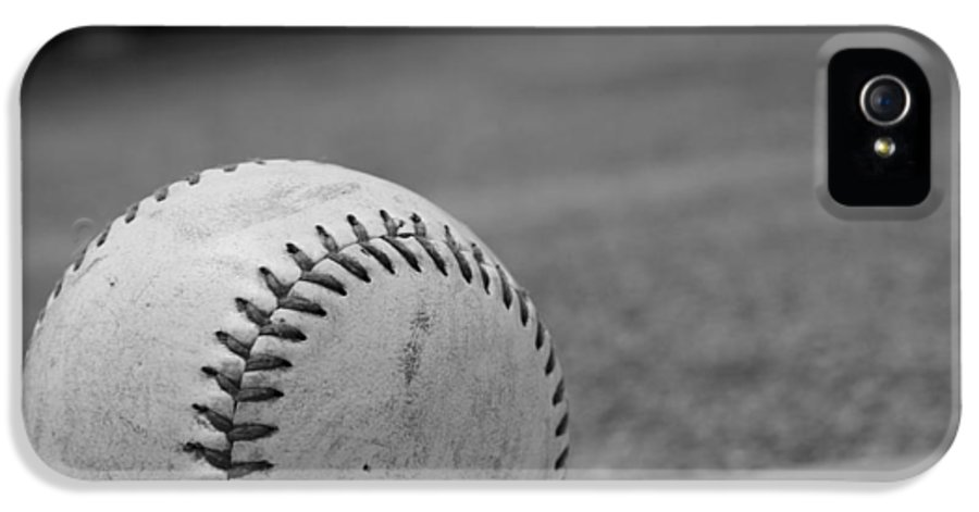 Kelly Hazel IPhone 5 Case featuring the photograph Baseball by Kelly Hazel