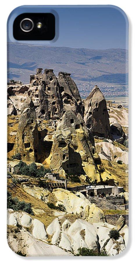 Cappadocia IPhone 5 Case featuring the pyrography Cappadocia by Jelena Jovanovic