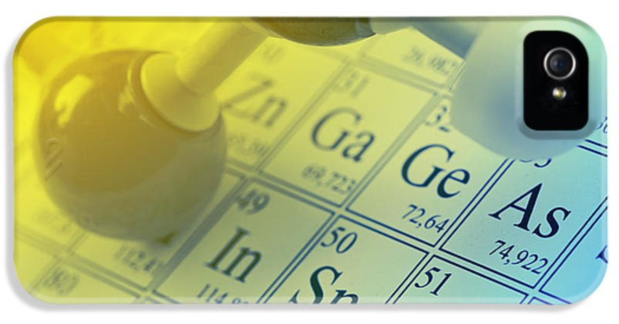Chemistry IPhone 5 Case featuring the photograph Chemistry Concept by Shawn Hempel