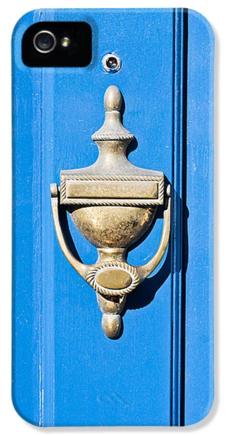 Antique IPhone 5 Case featuring the photograph Door Knocker by Tom Gowanlock
