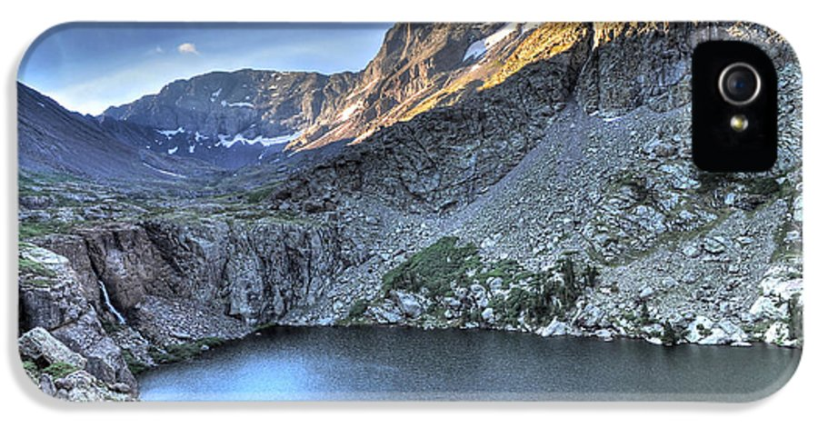 14er IPhone 5 Case featuring the photograph Kit Carson Peak And Willow Lake by Aaron Spong