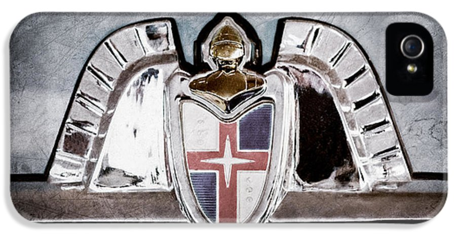 Lincoln Emblem IPhone 5 Case featuring the photograph Lincoln Emblem by Jill Reger