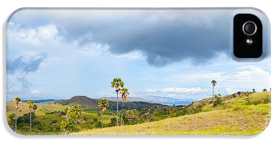 Summer IPhone 5 Case featuring the photograph Rinca Panorama by MotHaiBaPhoto Prints