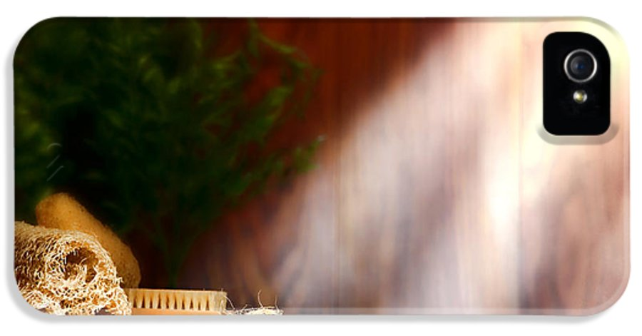 Aromatherapy IPhone 5 Case featuring the photograph Spa Ambiance by Olivier Le Queinec