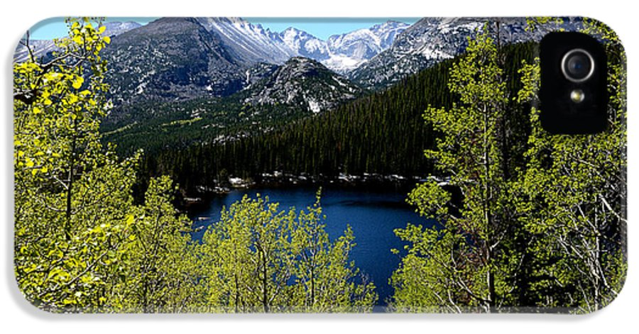 Tranquil IPhone 5 Case featuring the photograph Spring At Bear Lake by Tranquil Light Photography