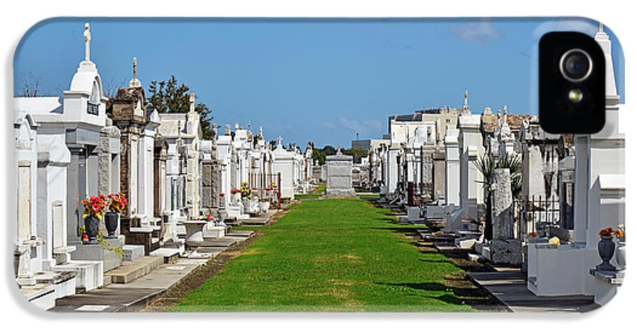 Saint IPhone 5 Case featuring the photograph St Louis Cemetery No 3 New Orleans by Christine Till