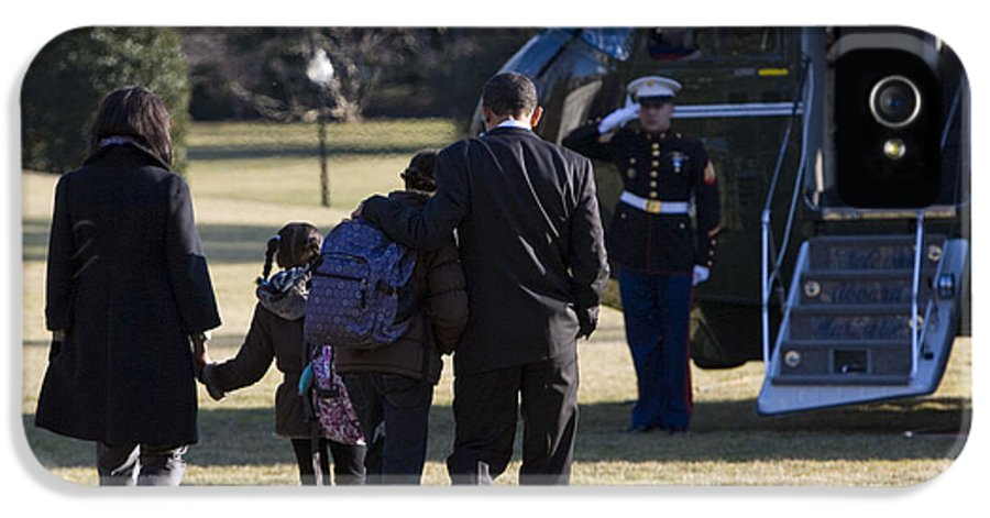 First Lady IPhone 5 Case featuring the photograph The First Family by JP Tripp