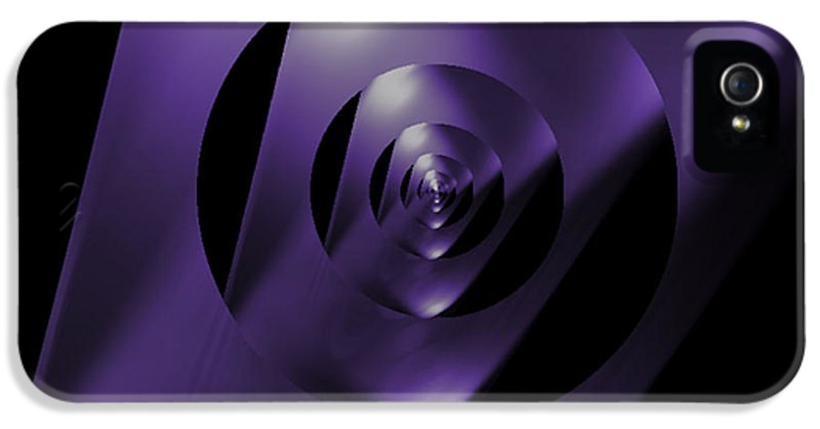 Looking Glass IPhone 5 Case featuring the photograph Through The Looking Glass by Luther Fine Art