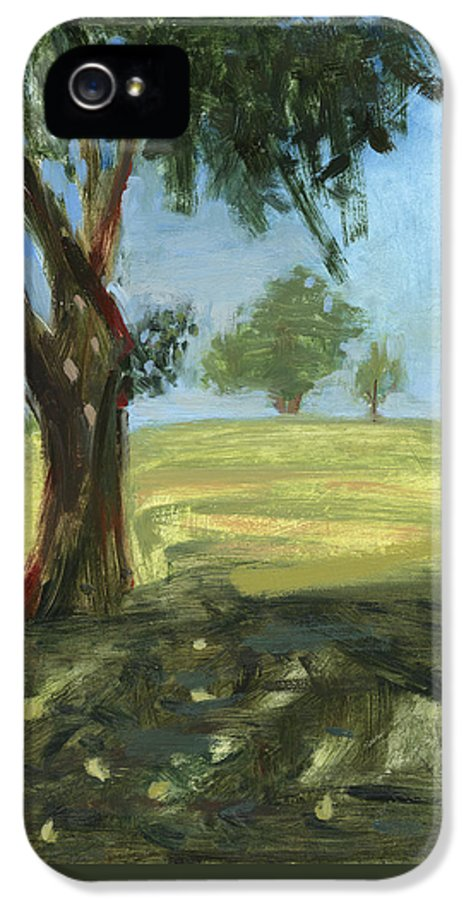 Trees IPhone 5 Case featuring the painting Rcnpaintings.com by Chris N Rohrbach