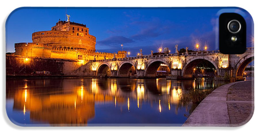 Ponte IPhone 5 Case featuring the photograph Castel Sant Angelo by Brian Jannsen