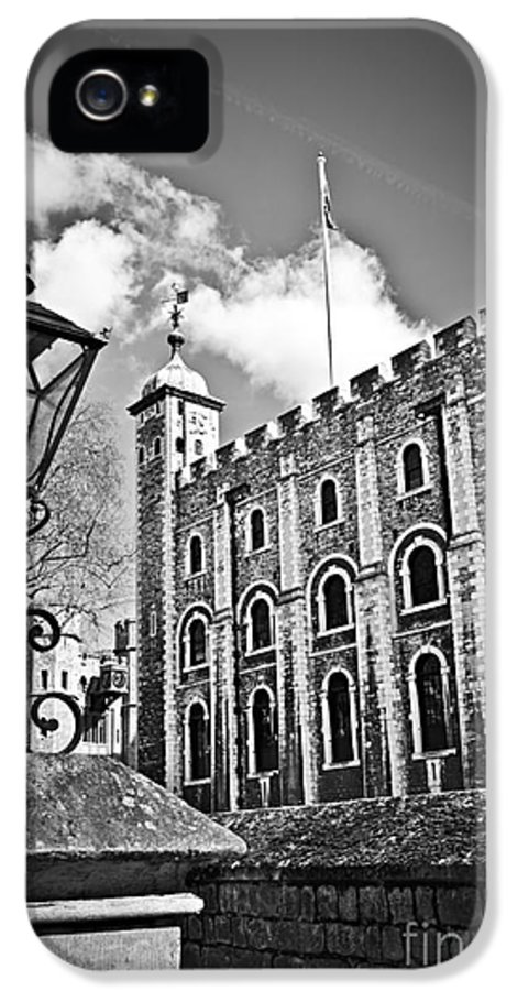 Tower IPhone 5 / 5s Case featuring the photograph Tower Of London by Elena Elisseeva