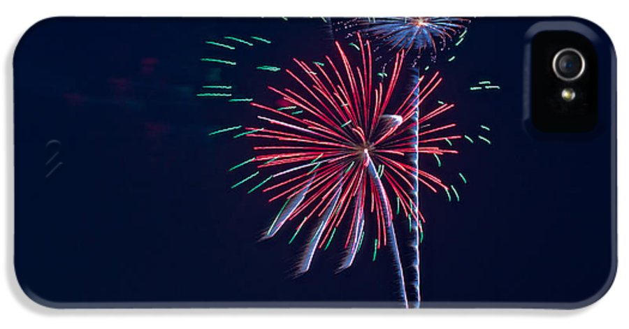 Fireworks IPhone 5 Case featuring the photograph Fireworks by Richard Call