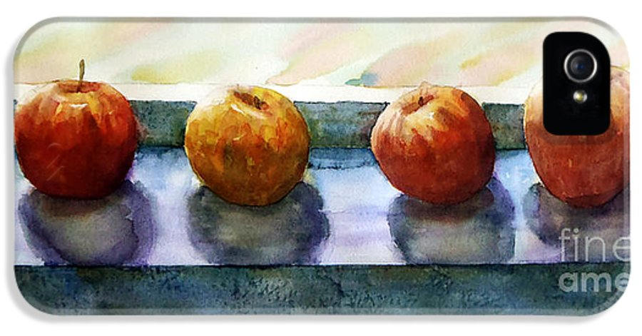 Still Life IPhone 5 Case featuring the painting 4 Friends by Marisa Gabetta