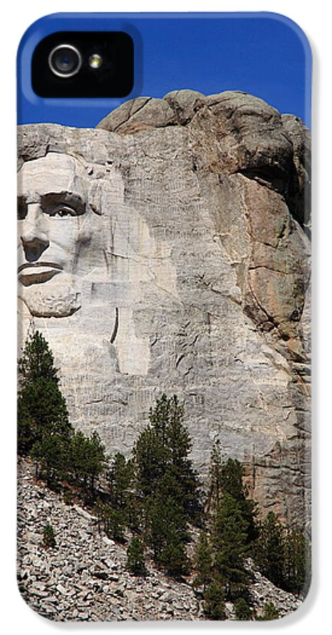 Abe IPhone 5 Case featuring the photograph Mount Rushmore by Frank Romeo