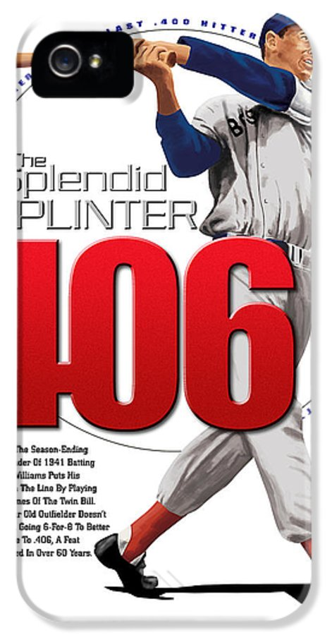 The Spledid Splinter IPhone 5 Case featuring the digital art 406 by Ron Regalado