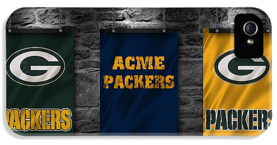 Packers IPhone 5 Case featuring the photograph Green Bay Packers by Joe Hamilton