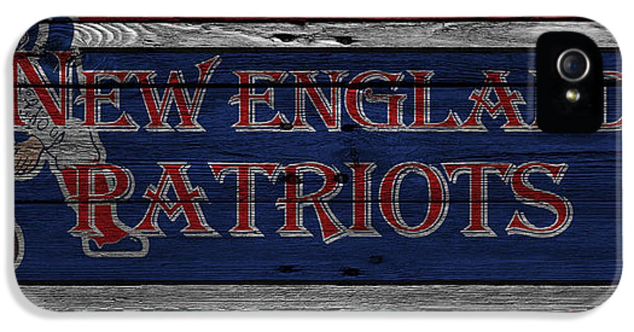 Patriots IPhone 5 Case featuring the photograph New England Patriots by Joe Hamilton