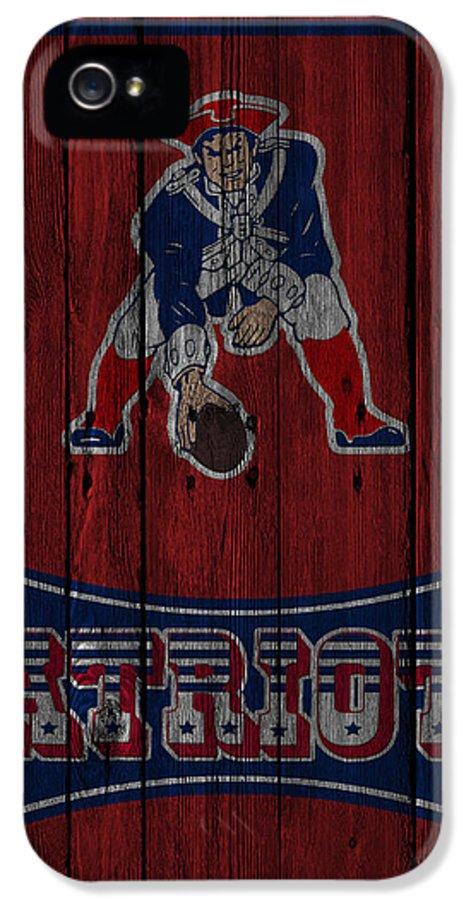 Patriots IPhone 5 / 5s Case featuring the photograph New England Patriots by Joe Hamilton