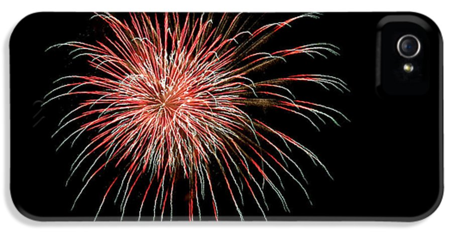 Fireworks IPhone 5 Case featuring the photograph 4th Of July 4 by Marilyn Hunt