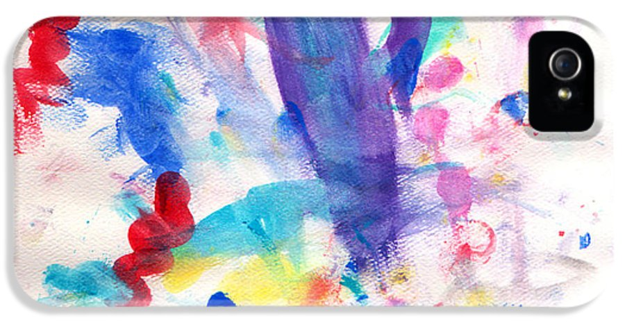 Watercolor IPhone 5 Case featuring the painting 4th Of July by Fred Wilson