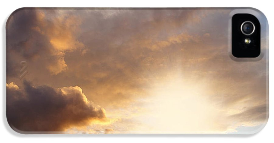 Beautiful IPhone 5 / 5s Case featuring the photograph Sky by Les Cunliffe