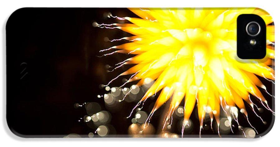 4 IPhone 5 Case featuring the photograph Fireworks Art by Benjamin Simeneta