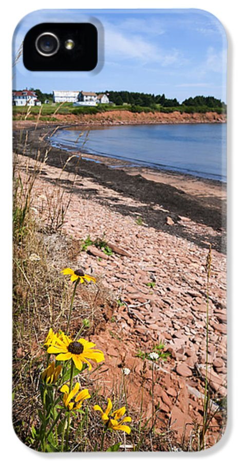 Prince Edward Island IPhone 5 Case featuring the photograph Prince Edward Island Coastline by Elena Elisseeva