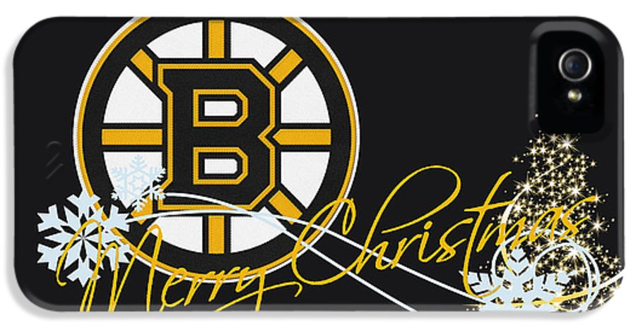 Bruins IPhone 5 Case featuring the photograph Boston Bruins by Joe Hamilton