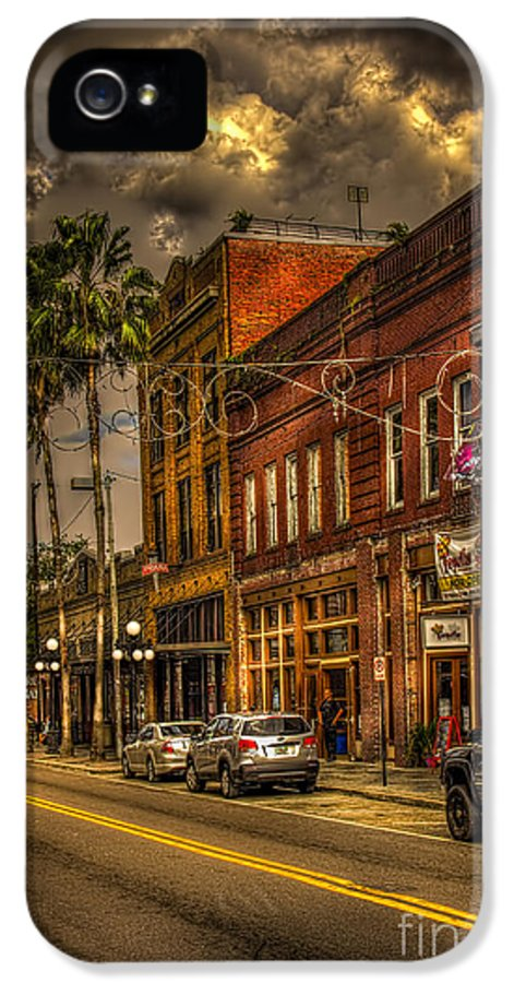 7th Avenue IPhone 5 Case featuring the photograph 7th Avenue by Marvin Spates