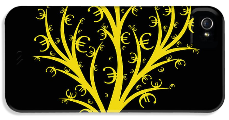 Abstract IPhone 5 Case featuring the photograph Money Tree by IB Photo