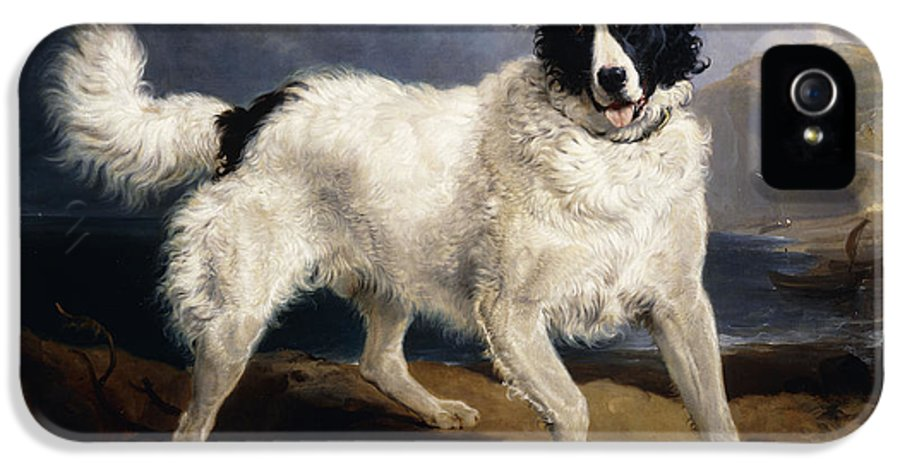 1824 IPhone 5 Case featuring the painting A Portrait Of Neptune by Sir Edwin Landseer