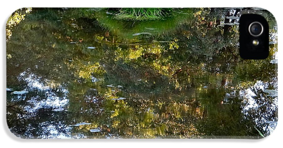 Walden Pond IPhone 5 Case featuring the photograph A Quiet Little Pond by Ira Shander