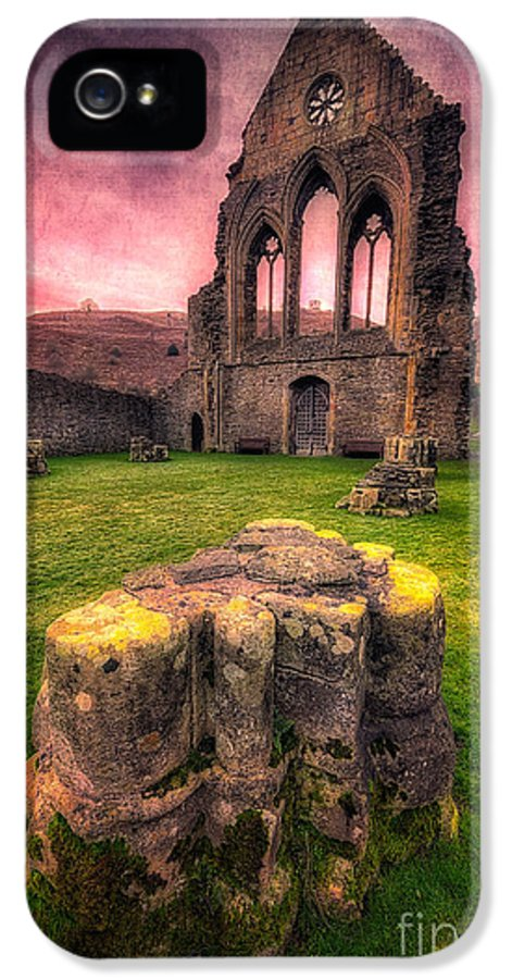 13th Century IPhone 5 Case featuring the photograph Abbey Ruin by Adrian Evans