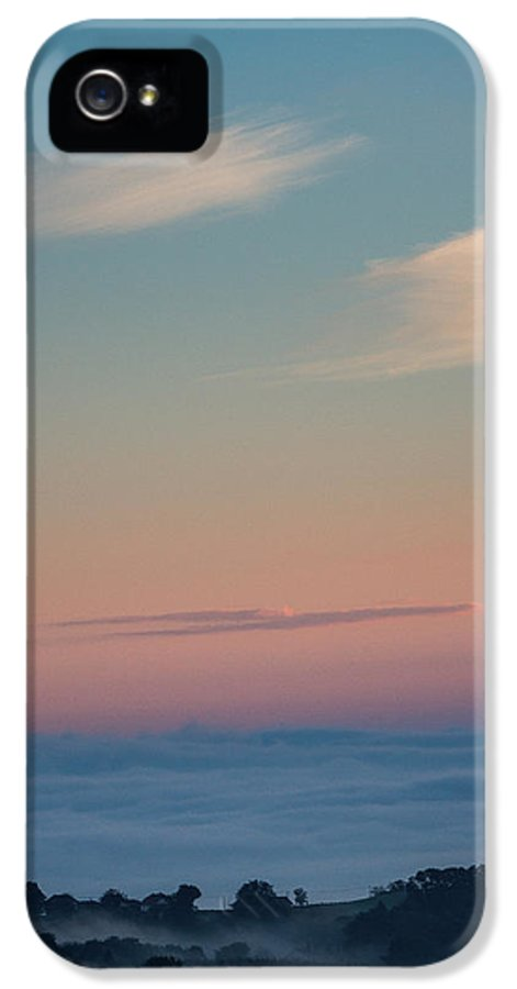Landscapes IPhone 5 Case featuring the photograph Above The Clouds by Davorin Mance