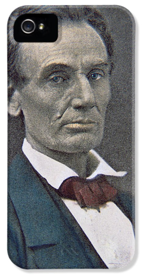 Statesman IPhone 5 Case featuring the photograph Abraham Lincoln by American Photographer