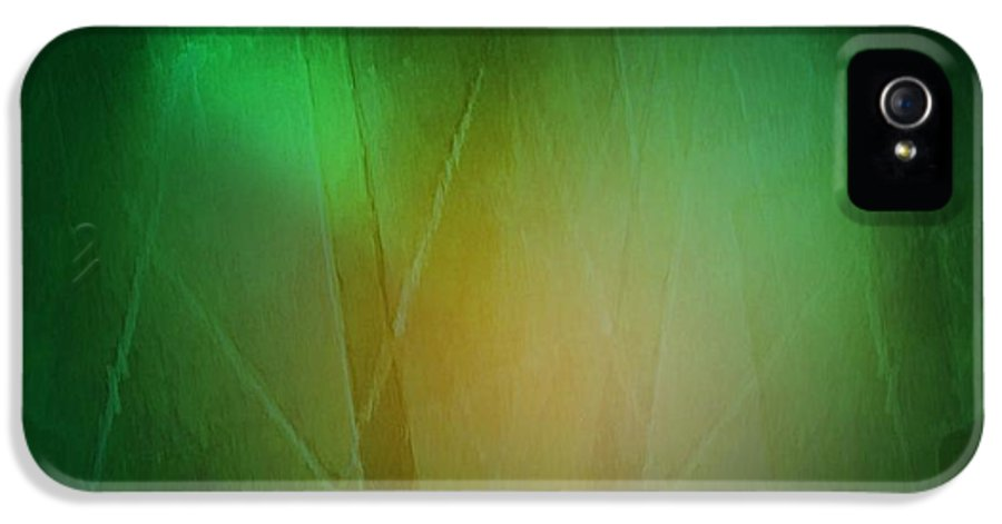 Abstract IPhone 5 Case featuring the digital art Abstract 1005 by John Krakora