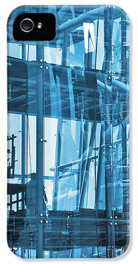 Abstract IPhone 5 Case featuring the photograph Abstract Architecture by Carlos Caetano