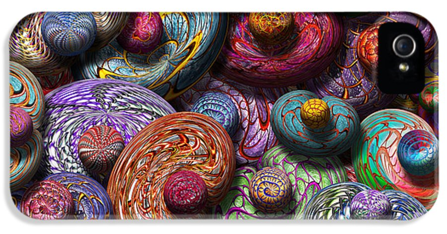 Abstract IPhone 5 Case featuring the photograph Abstract - Beans by Mike Savad