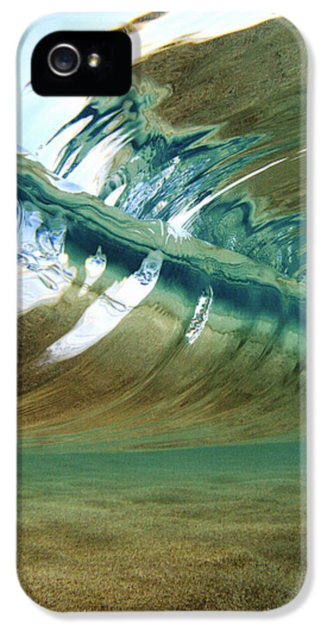 Abstract IPhone 5 Case featuring the photograph Abstract Underwater 2 by Vince Cavataio - Printscapes