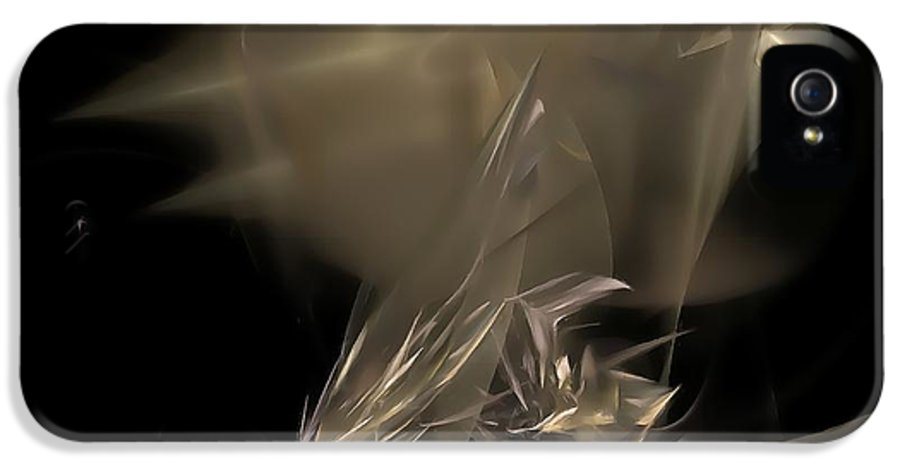 Graphics IPhone 5 Case featuring the ceramic art Abstraction 0151 Marucii by Marek Lutek