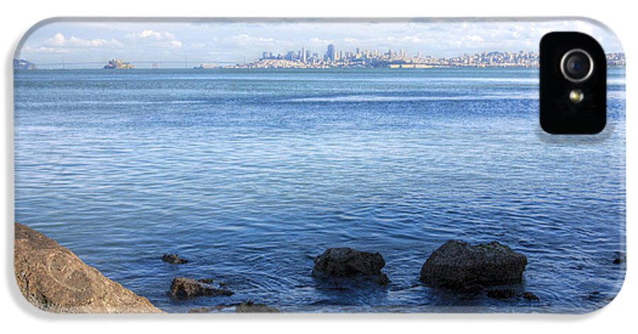 Bonita Point IPhone 5 Case featuring the photograph Across The Bay by JC Findley