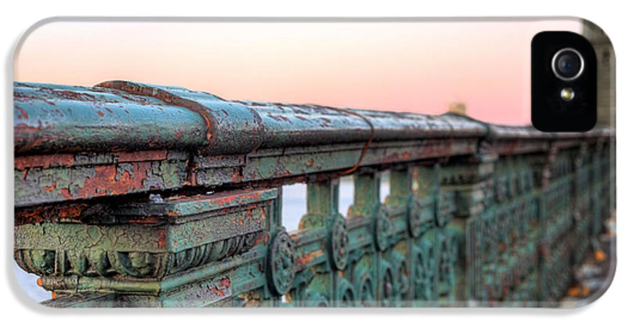 Longfellow Bridge IPhone 5 Case featuring the photograph Across The Charles by JC Findley