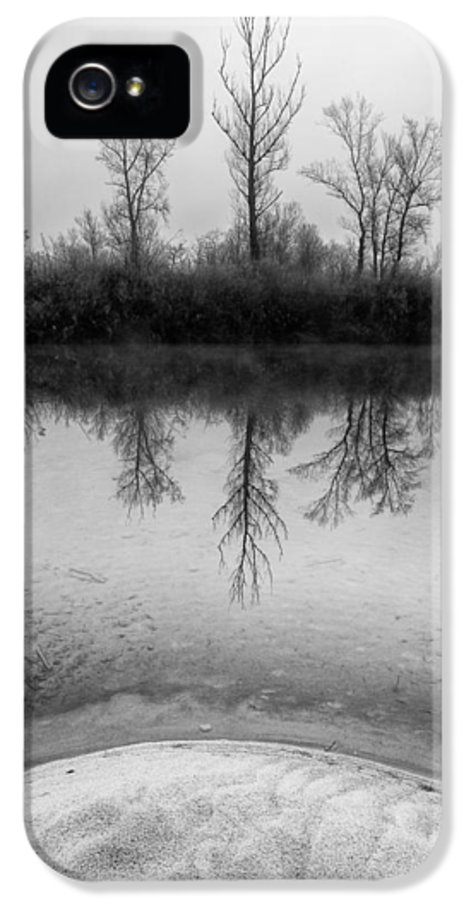 Landscapes IPhone 5 Case featuring the photograph Across The Water by Davorin Mance