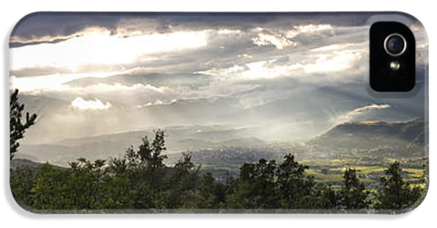 Spain IPhone 5 Case featuring the photograph After A Pyrenean Storm by Michael David Murphy