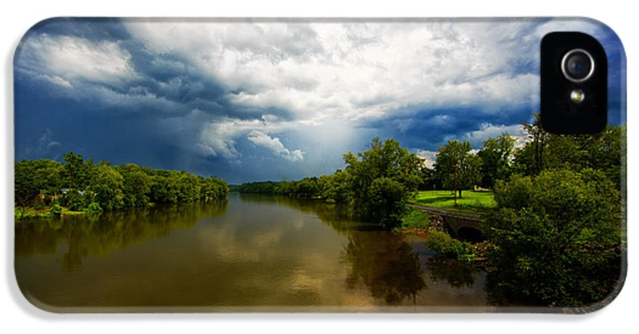 Storm IPhone 5 Case featuring the photograph After The Storm by Everet Regal
